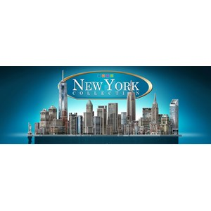 "Wrebbit (Wrebbit-Set-New-York) - ""Full New York Collection"" - 3575 pieces puzzle"