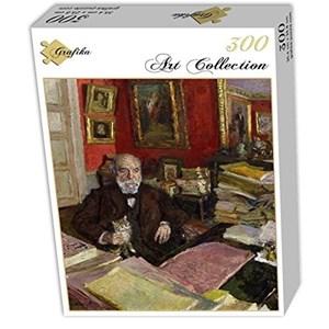 "Grafika (01806) - Edouard Vuillard: ""Théodore Duret, 1912"" - 300 pieces puzzle"