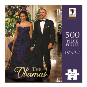 """African American Expressions (PUZ-09) - """"The Obamas"""" - 500 pieces puzzle"""