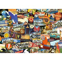 """Ravensburger (19212) - """"On the Road!"""" - 1000 pieces puzzle"""