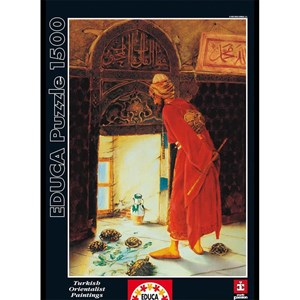 "Educa (12986) - Osman Hamdi Bey: ""Turtle Trainer"" - 1500 pieces puzzle"