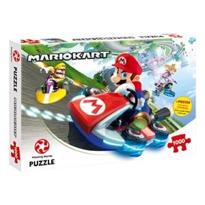 "Winning Moves Games (44815) - ""Super Mario, Mario Kart"" - 1000 pieces puzzle"