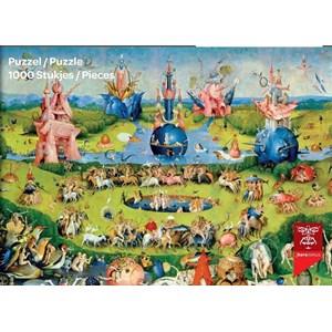 """PuzzelMan (765) - Hieronymus Bosch: """"The Garden of Delights"""" - 1000 pieces puzzle"""