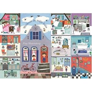 """PuzzelMan - Fiep Westendorp: """"Het Huis van Fiep!"""" - 1000 pieces puzzle"""