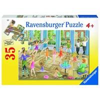 """Ravensburger (08779) - """"Ballet Lesson"""" - 35 pieces puzzle"""