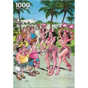"""PuzzelMan (005) - """"Hawaii"""" - 1000 pieces puzzle"""
