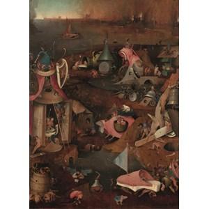 "PuzzelMan (767) - Hieronymus Bosch: ""The Last Judgment"" - 1000 pieces puzzle"