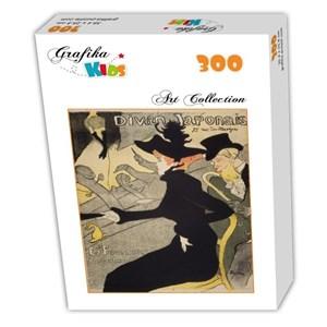 """Grafika Kids (00453) - Henri de Toulouse-Lautrec: """"Divan Japonais, 1892-1893"""" - 300 pieces puzzle"""