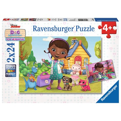 """Ravensburger (09095) - """"Pet Vet"""" - 24 pieces puzzle"""