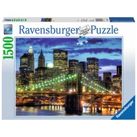 "Ravensburger (16272) - ""Skyline New York City"" - 1500 pieces puzzle"