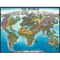 "Ravensburger (16683) - ""World Map"" - 2000 pieces puzzle"