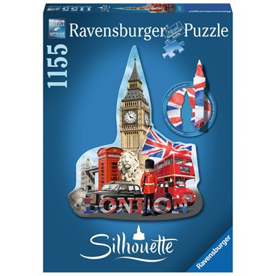 "Ravensburger (16155) - ""Big Ben"" - 1155 pieces puzzle"