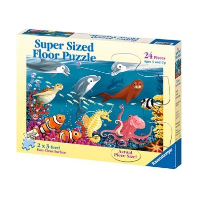 "Ravensburger (05456) - ""Ocean Life"" - 24 pieces puzzle"
