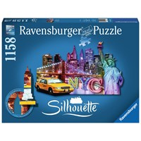 "Ravensburger (16153) - ""NYC Skyline"" - 1158 pieces puzzle"