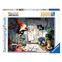 "Ravensburger (19432) - ""The Artist's Desk"" - 1000 pieces puzzle"