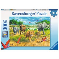 "Ravensburger (13219) - ""African Animal Babies"" - 300 pieces puzzle"