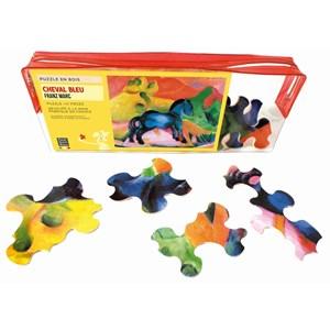 """Puzzle Michele Wilson (W60-12) - Franz Marc: """"Blue Horse"""" - 12 pieces puzzle"""
