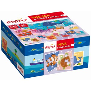 "Ludattica (58204) - ""The Sea"" - 32 pieces puzzle"