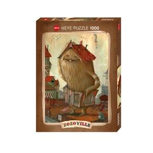 "Heye (29812) - Johan Potma: ""Neighbourhood"" - 1000 pieces puzzle"