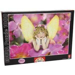 "Educa (14850) - Kathleen Francour: ""Wild Rose"" - 1000 pieces puzzle"