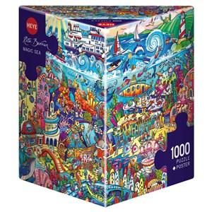 "Heye (29839) - Rita Berman: ""Magic Sea"" - 1000 pieces puzzle"