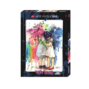"Heye (29826) - Lora Zombie: ""Imagination"" - 1000 pieces puzzle"