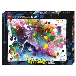 "Heye (29825) - Lora Zombie: ""Meow"" - 1000 pieces puzzle"