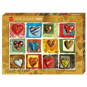 "Heye (29807) - Stefanie Steinmayer: ""You & Me"" - 1000 pieces puzzle"