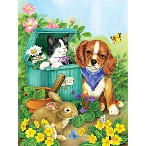 "SunsOut (16048) - Jane Maday: ""Precious Pets"" - 500 pieces puzzle"