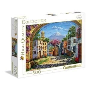 """Clementoni (35025) - Arturo Zarraga: """"The Volcano"""" - 500 pieces puzzle"""