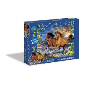 "Clementoni (39222) - Howard Robinson: ""Romantic Ride"" - 1000 pieces puzzle"