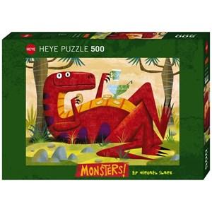 "Heye (29624) - Michael Slack: ""Monster Punch"" - 500 pieces puzzle"