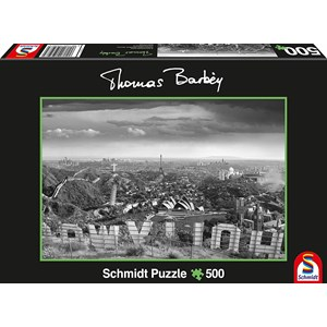 "Schmidt Spiele (59507) - Thomas Barbey: ""A glass of too"" - 500 pieces puzzle"