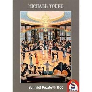 """Schmidt Spiele (59700) - Michael Young: """"Ballroom"""" - 1000 pieces puzzle"""