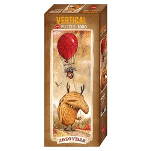 """Heye (29743) - Mateo Dineen: """"Red Balloon"""" - 1000 pieces puzzle"""