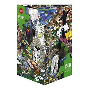 """Heye (29575) - eBoy: """"Rio"""" - 1500 pieces puzzle"""