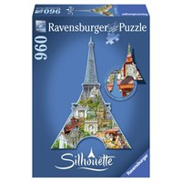 "Ravensburger (16152) - ""Eiffel Tower"" - 960 pieces puzzle"