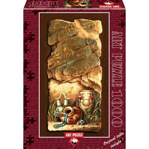 """Art Puzzle (4423) - James Lee: """"Water Jugs"""" - 1000 pieces puzzle"""
