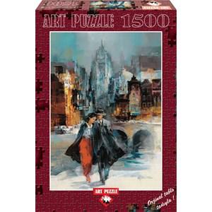 "Art Puzzle (4604) - Willem Haenraets: ""Romance I"" - 1500 pieces puzzle"