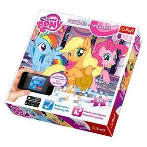 """Trefl (75100) - """"My Little Pony"""" - 80 pieces puzzle"""