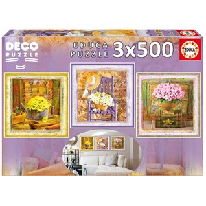 """Educa (17095) - Gail Marie: """"Enchanted Moments"""" - 500 pieces puzzle"""