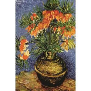 """Gold Puzzle (60911) - Vincent van Gogh: """"Fritillaires in a Copper Vase"""" - 1000 pieces puzzle"""