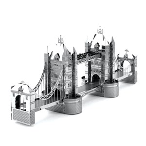 "Metal Earth (Metal-Earth-MMS022) - ""Metal Tower Bridge"" - 30 pieces puzzle"