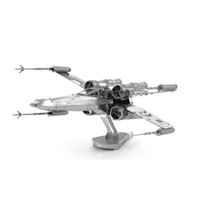 "Metal Earth (Metal-Earth-MMS257) - ""Star Wars, X-Wing Star Fighter"" - 25 pieces puzzle"