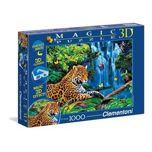 """Clementoni (39284) - Howard Robinson: """"Jaguar"""" - 1000 pieces puzzle"""