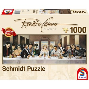 "Schmidt Spiele (57291) - Renato Casaro: ""Dinner"" - 1000 pieces puzzle"