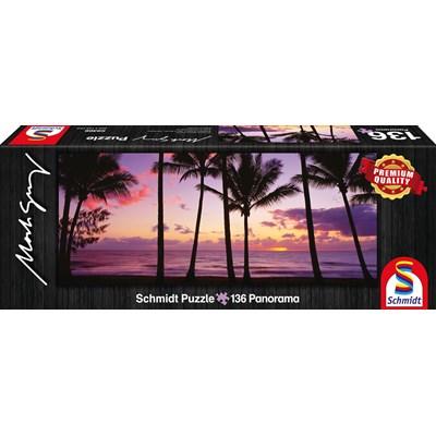 """Schmidt Spiele (59366) - Mark Gray: """"Palm Cove, Queensland, Australia"""" - 136 pieces puzzle"""