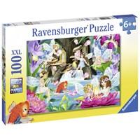 "Ravensburger (10942) - ""Magical Fairy Night"" - 100 pieces puzzle"