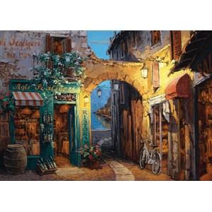 """Schmidt Spiele (59313) - Sam Park: """"Lanes on Lake Como"""" - 1000 pieces puzzle"""
