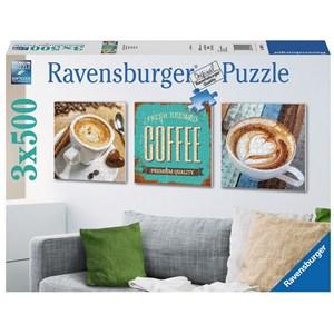 "Ravensburger (19919) - ""Coffee"" - 500 pieces puzzle"
